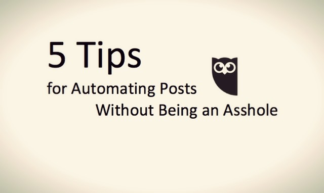hootsuite automating posts