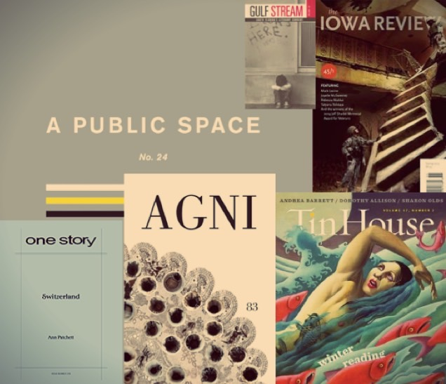Literary journal covers