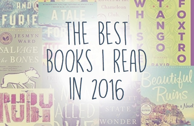 Best Books I Read in 2016