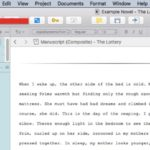 Creating and Using Scrivener Collections