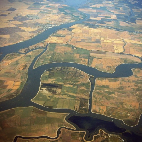 California's Agricultural Islands
