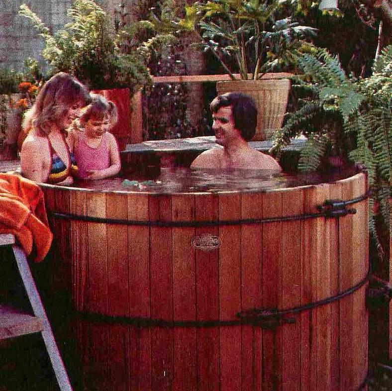 redwood hot tub
