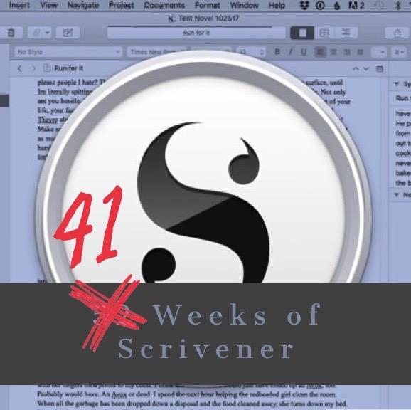 52 Weeks of Scrivener Wrap Up