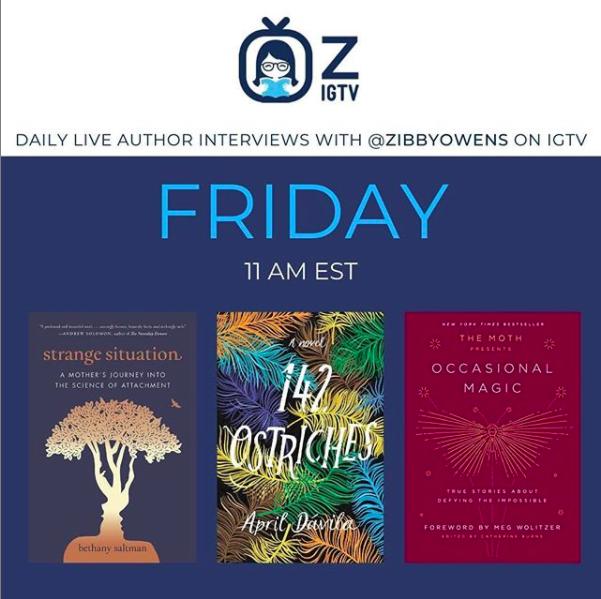 Zibby Owens Author Interview with April Davila