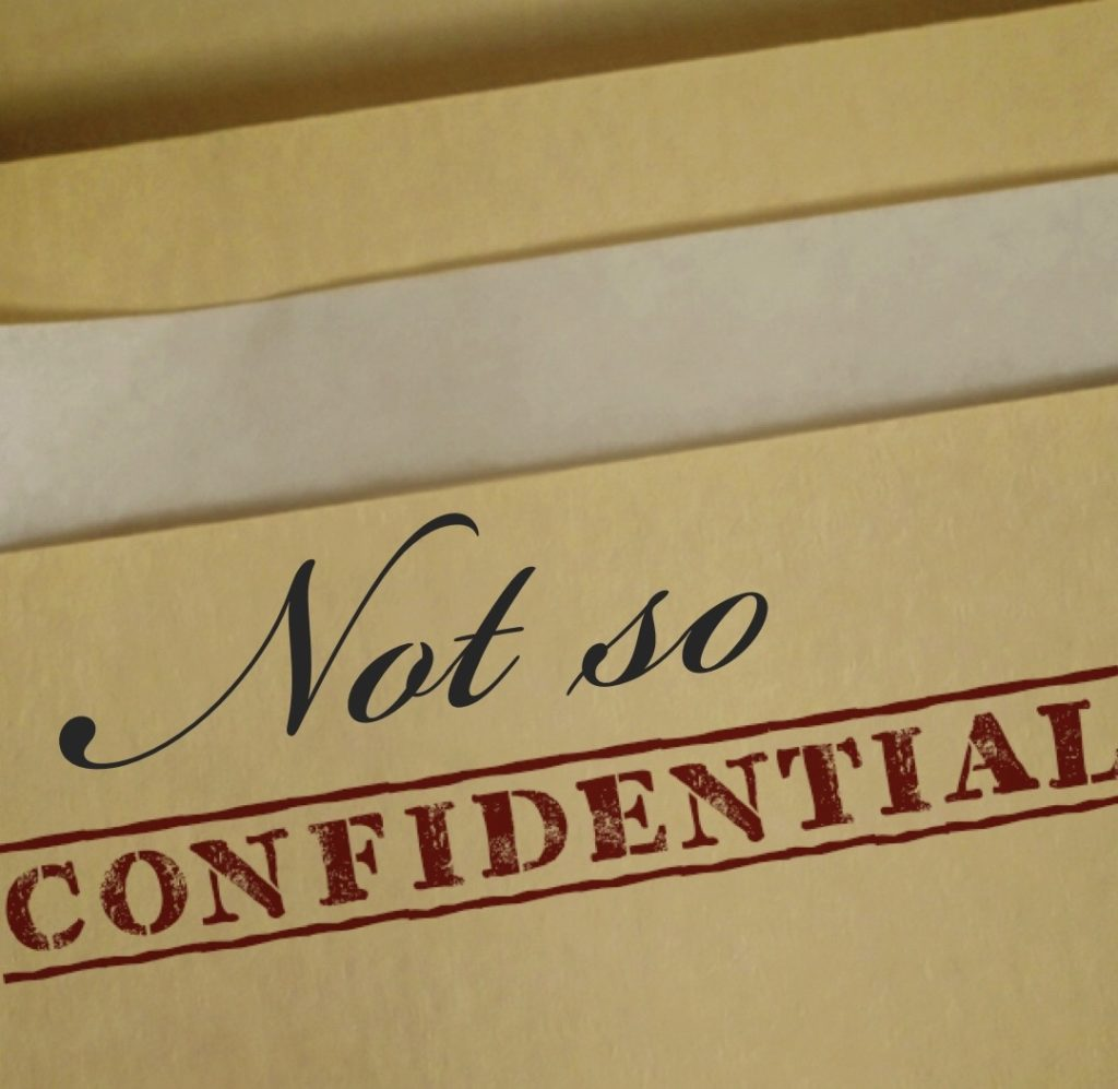 Not so confidential: sample query materials