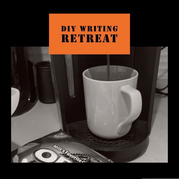 DIY Writing Retreat - coffee and cookies are essential