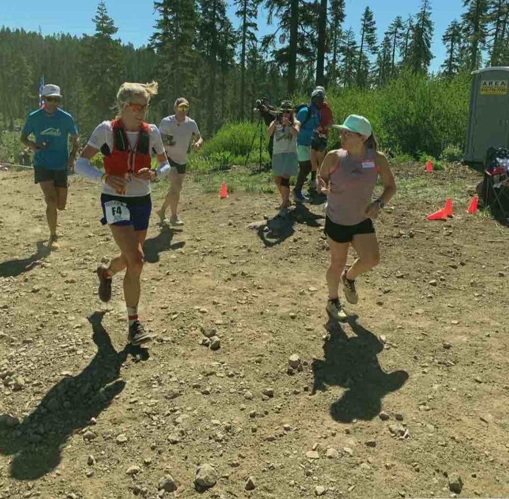 Western States Endurance Race Beth Pascall